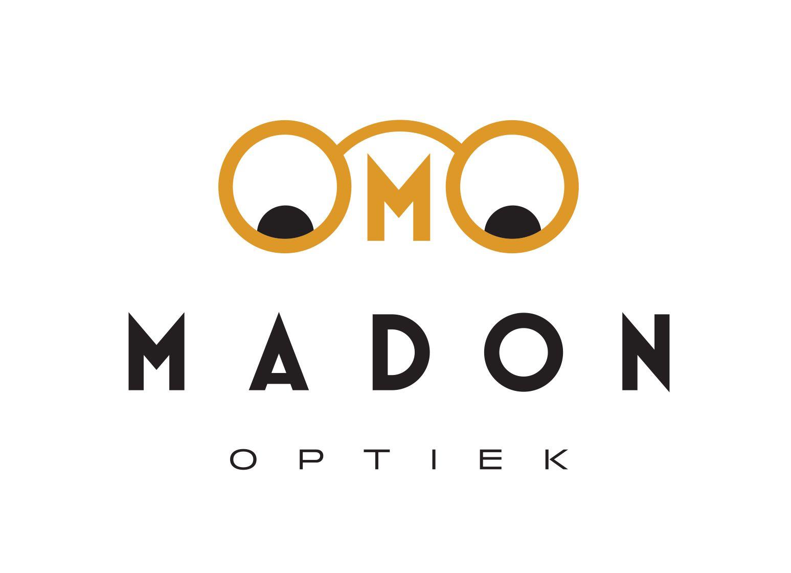 Logo optiek Madon